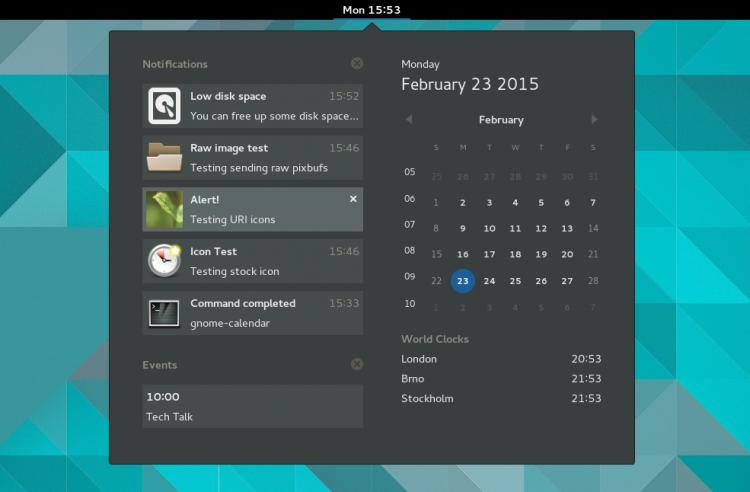 Новое приложение включает Android оповещения в GNOME