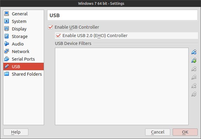 Как установить USB драйверы для VirtualBox в Ubuntu