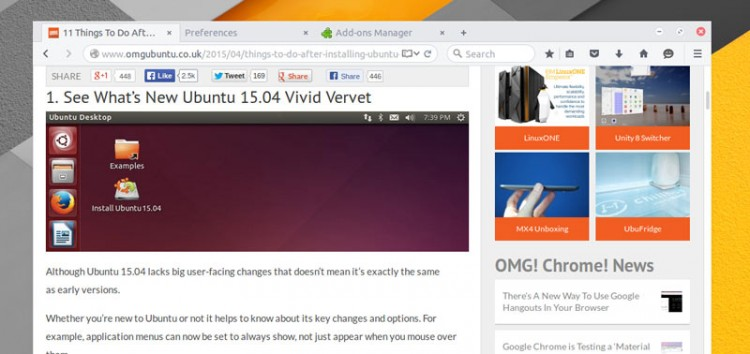 Официальная тема Arc для Firefox теперь доступна