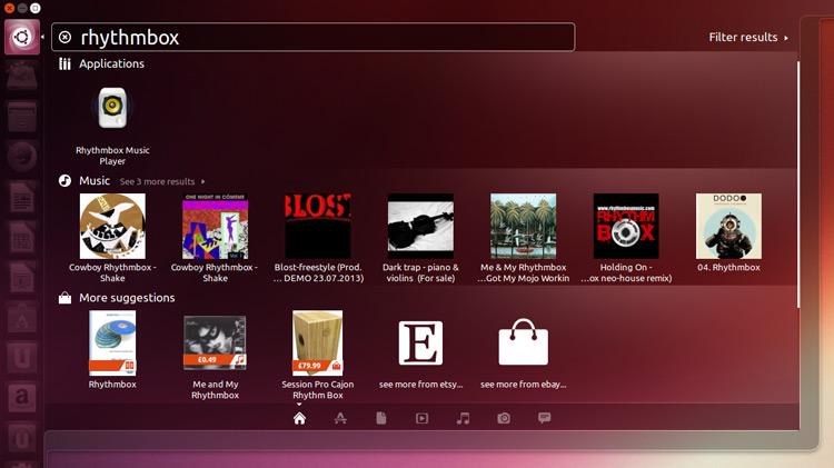 Как удалить рекомендации товаров из главного меню Unity в Ubuntu 13.10 и 14.04