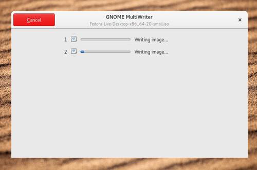 Это приложение позволяет записывать ISO образ на 20 носителей одновременно