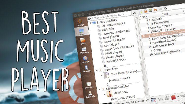 6 лучших музыкальных плееров для Ubuntu.