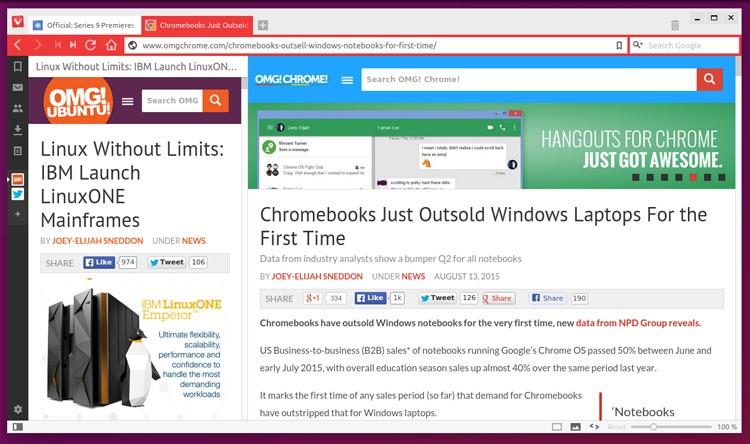 Веб-браузер Vivaldi упрощает многозадачность в режиме онлайн