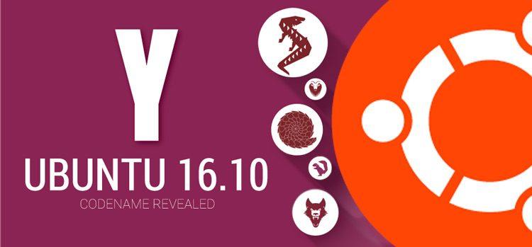 Это действительно новое кодовое имя для Ubuntu 16.10? (Ответ: Да)
