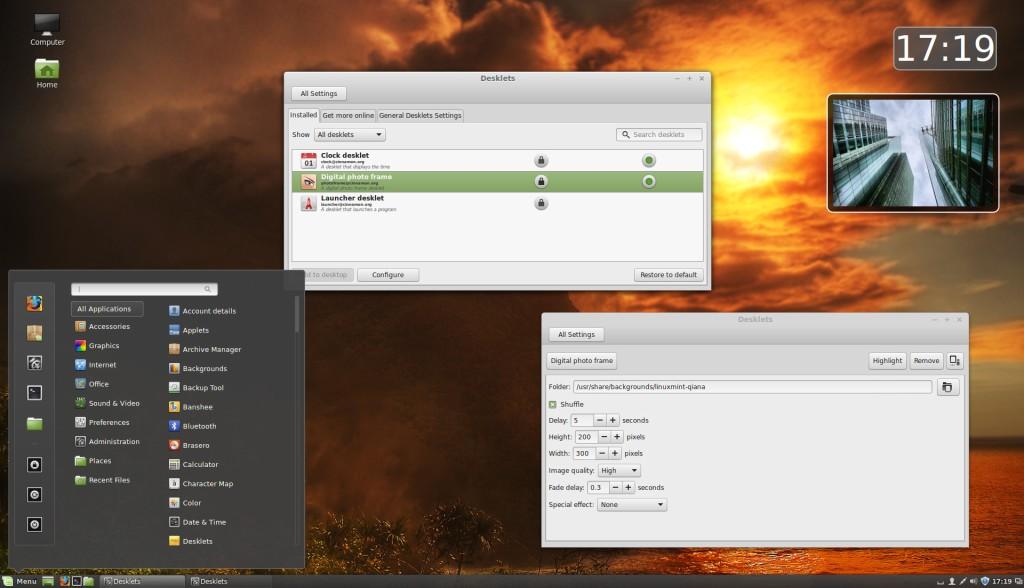 Cinnamon on Linux Mint