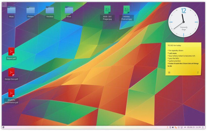 KDE Plasma Desktop Environment