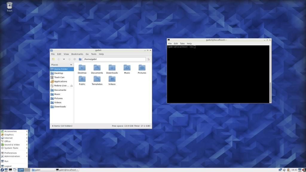 LXDE on Fedora