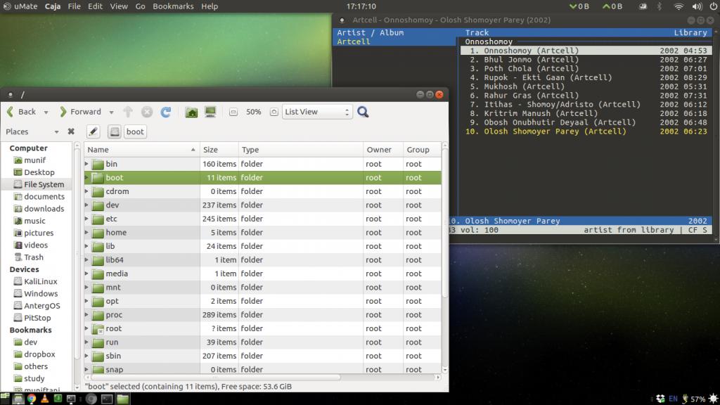 MATE Desktop Environment on Ubuntu MATE