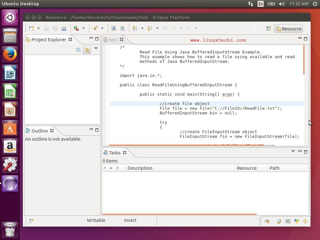 Eclipse-Text-Editor-Linux