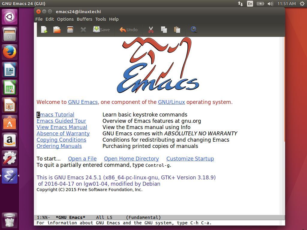 Emacs-Text-Editor-Linux