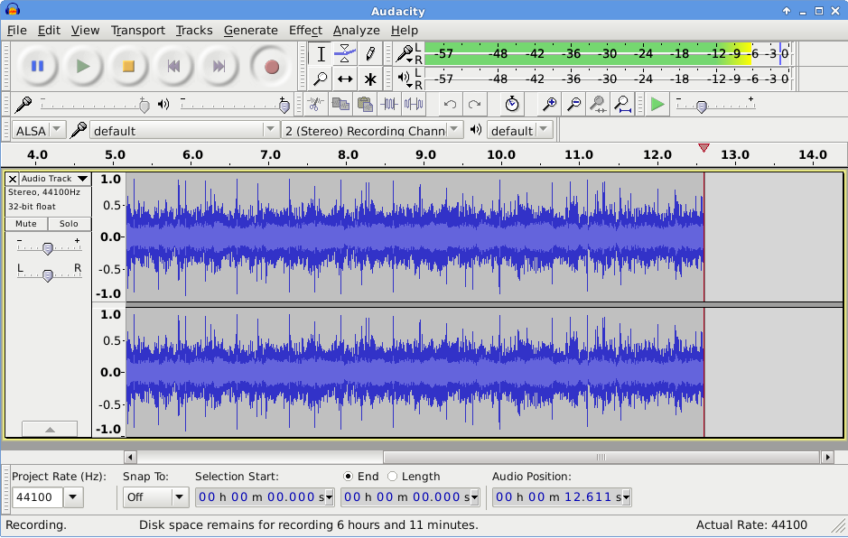 Audacity: Record and edit music in Linux with ease