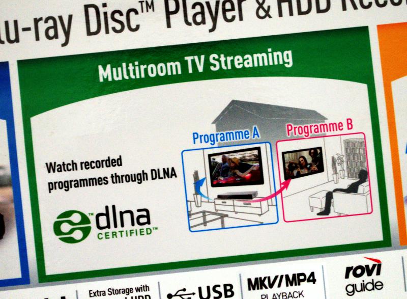 DLNA/UPnP media server