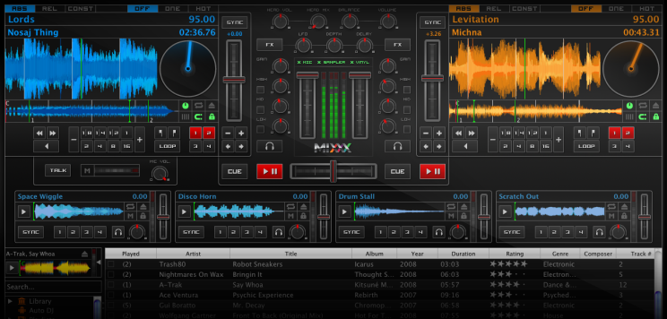 Mixxx: Linux's very own professional DJing software