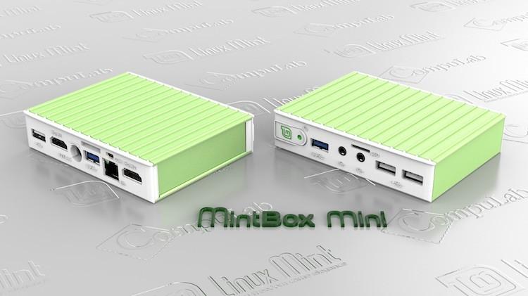 Linux Mint выпускают карманный ПК 'MintBox Mini'