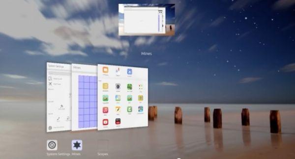 В оболочке Unity 8 появится 3D диспетчер задач