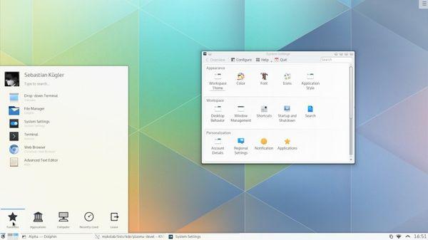 В Kubuntu 15.04 оболочка Plasma 5 будет использоваться по умолчанию